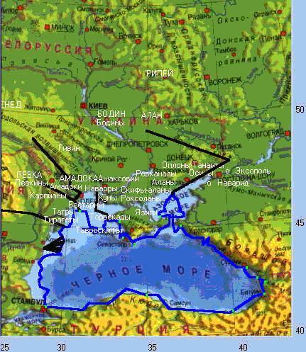 часть Азовского моря,