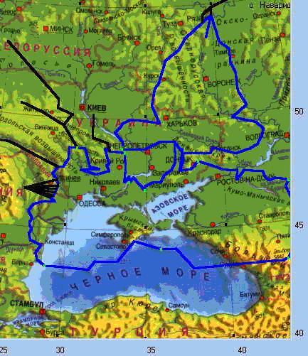 Исходная карта